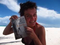 leyendo en Tullu, Mexico