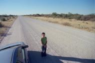 Namibia, viaje en coche
